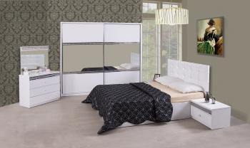 Schlafzimmerset Ekolüx Weiß