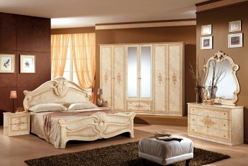 Schlafzimmerset Amalfi Beige
