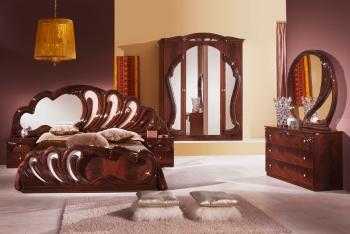 Schlafzimmerset Bianca Mahagoni