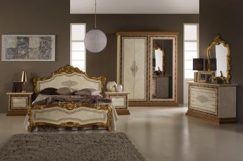 Schlafzimmerset Jennifer Beige