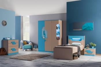 Komplette Jugendzimmer