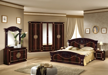 Schlafzimmerset Roma Walnuss