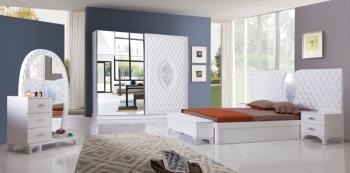 Schlafzimmerset Kral Weiß